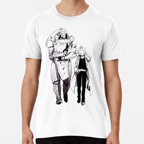 Full Metal Alchemist Edward and Alphonse Premium T-Shirt