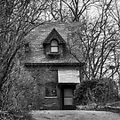 The Carriage House In Black And White by KirtTisdale