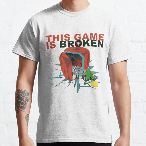 This Game is Broken - Classic Logo Classic T-Shirt