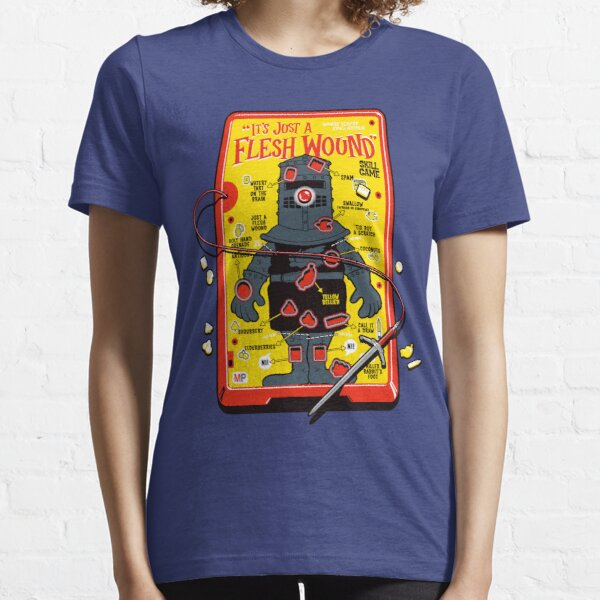 """The """"It's Just A Flesh Wound"""" Game Essential T-Shirt"""