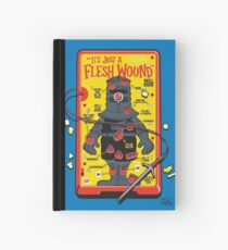 """The """"It's Just A Flesh Wound"""" Game Hardcover Journal"""