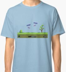 Duck Hunt! Pew! Pew! Classic T-Shirt