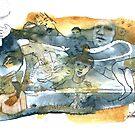 « Copie de Série bleu et jaune 2 » par Vincent Debats