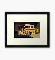 Wrong Bus Framed Print