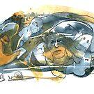 « Copie de Série bleu et jaune 3 » par Vincent Debats