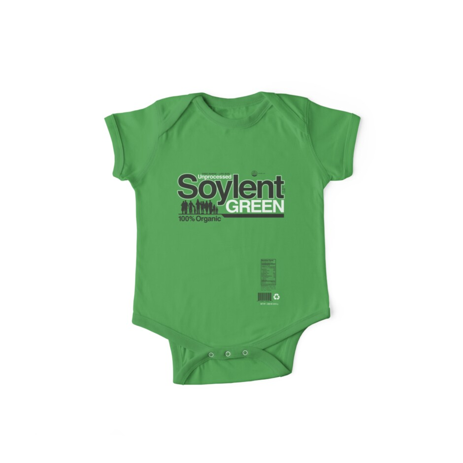 Contents: Unprocessed Soylent Green (on Green) by Captain RibMan