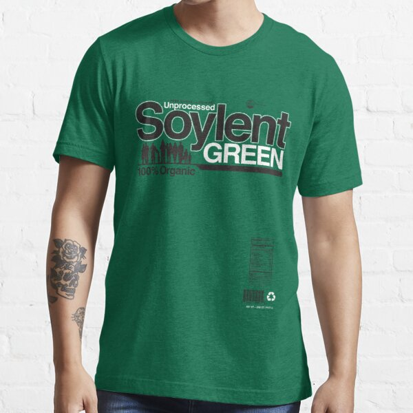 Contents: Unprocessed Soylent Green (on Green) Essential T-Shirt