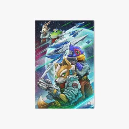 Star Fox Wall Art Redbubble