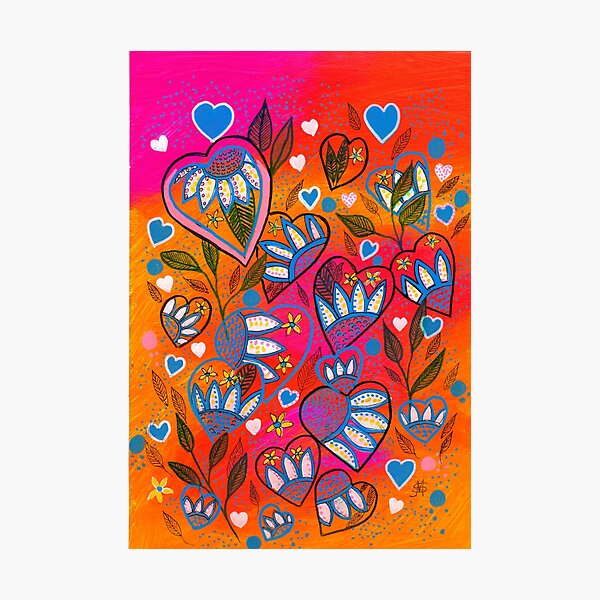 Lots of Love Photographic Print