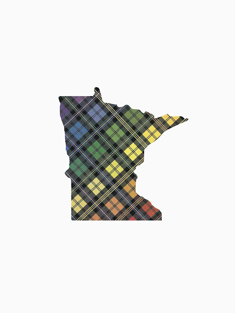 Minnesota Pride Plaid by andybirkey
