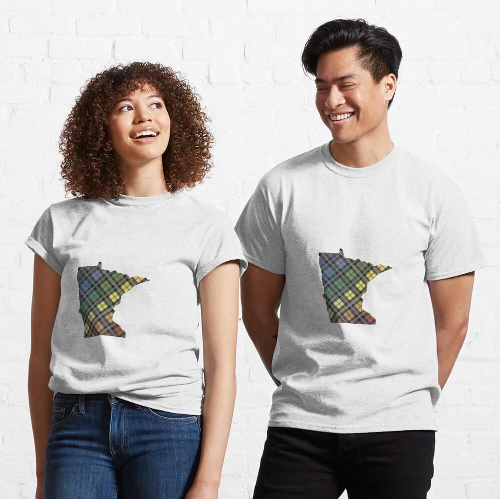 Minnesota Pride Plaid Classic T-Shirt