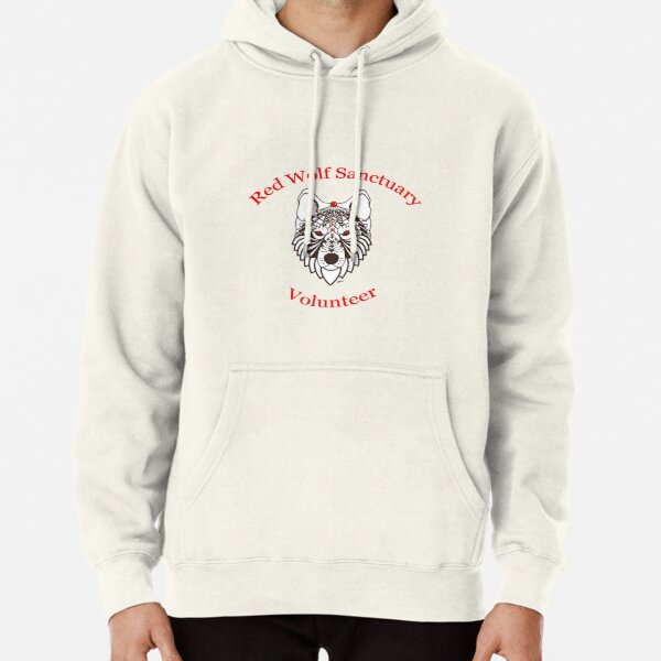 Red Wolf Sanctuary - Volunteer Shirt Pullover Hoodie