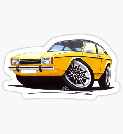 Ford Capri (Mk2) Yellow Sticker