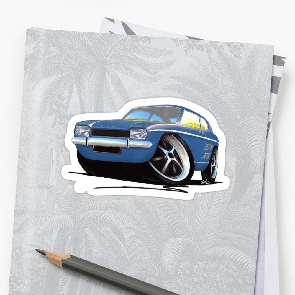 Ford Capri (Mk1) Blue by yeomanscarart