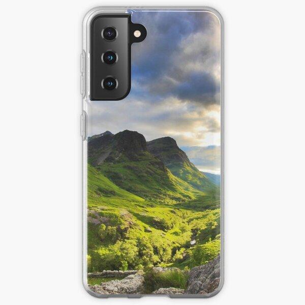 Glencoe, Scottish Highlands Samsung Galaxy Soft Case