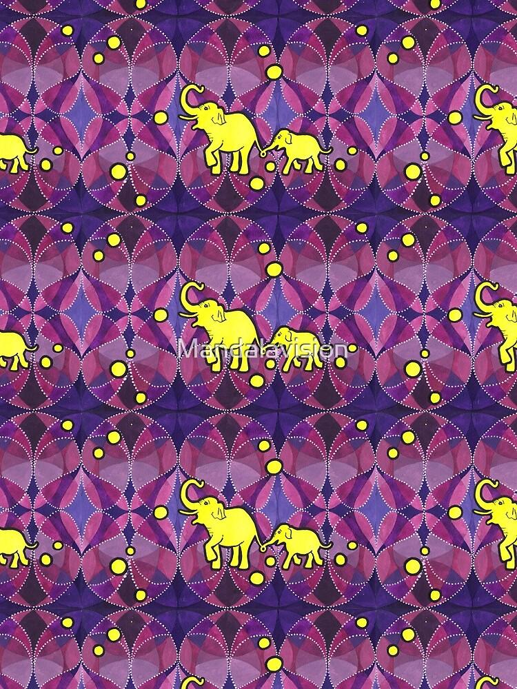 Yellow Elephants von Mandalavision