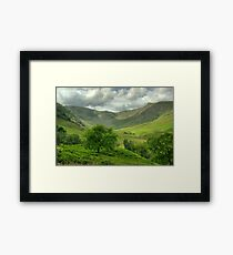 The Valley Of The Eagle Framed Print