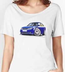 Ford Mondeo ST 220 Blue Women's Relaxed Fit T-Shirt