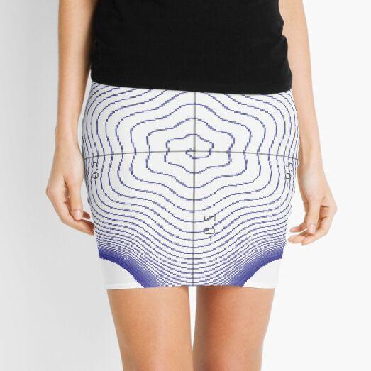 #Spiral, #twisting into the #star of #David Mini Skirt