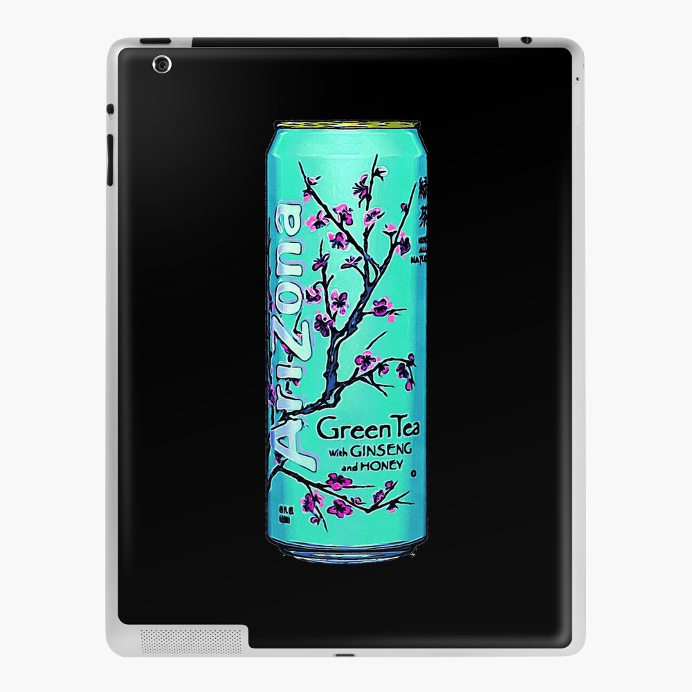 Arizona Original Green Tea Painting Aesthetic Ipad Case Skin By Neon Wolf Redbubble