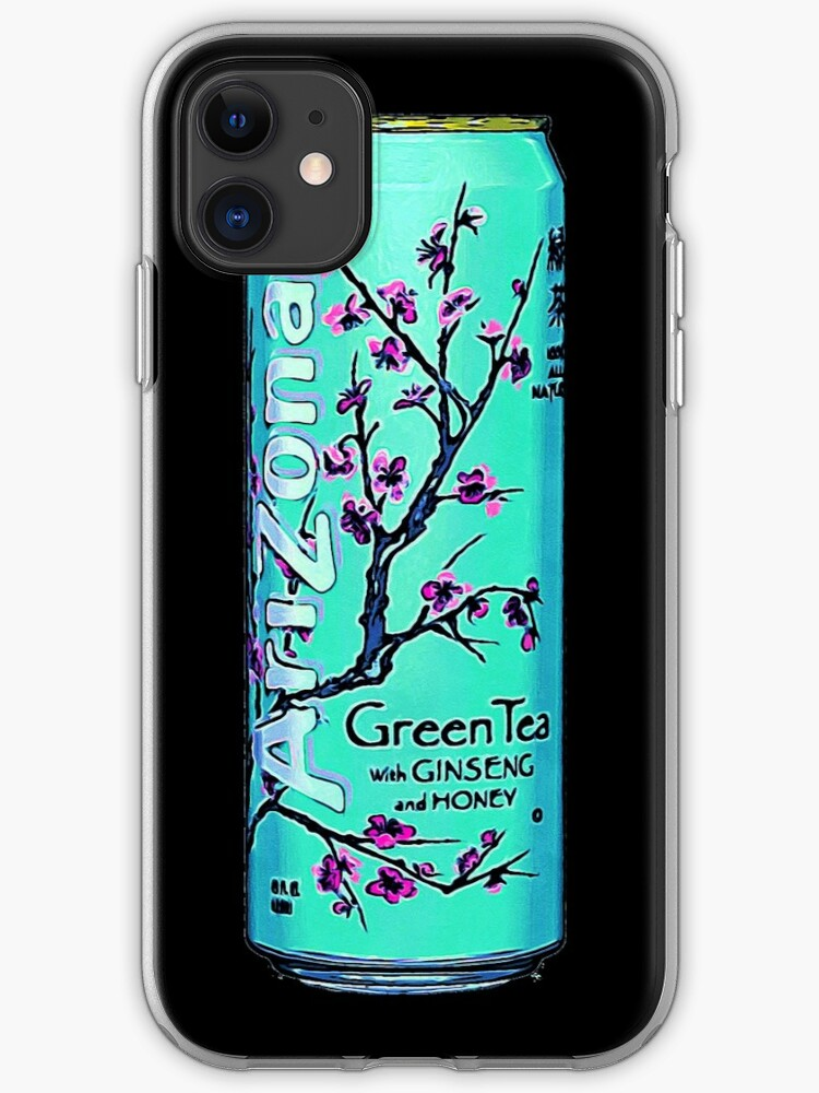 Arizona Original Green Tea Painting Aesthetic Iphone Case Cover By Neon Wolf Redbubble