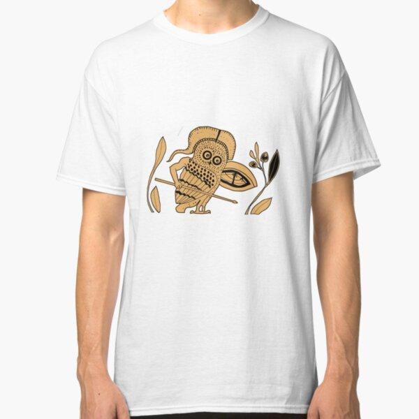 Hoplite Owl Classic T-Shirt