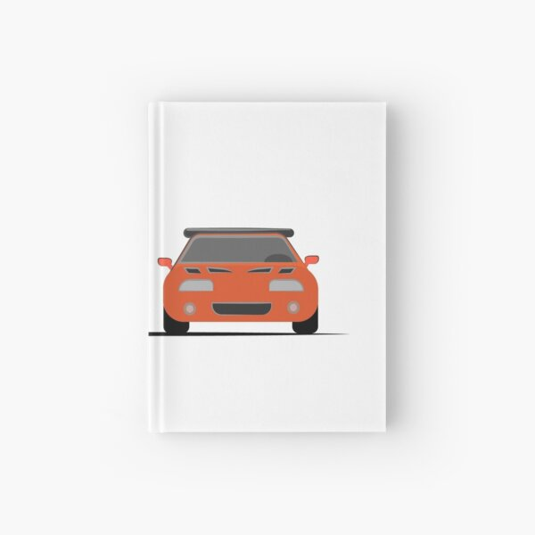 The Dodge Charger VS The Supra - Fast and Furious Hardcover Journal