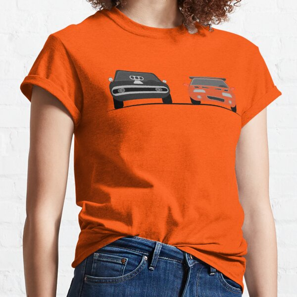 The Dodge Charger VS The Supra - Fast and Furious Classic T-Shirt