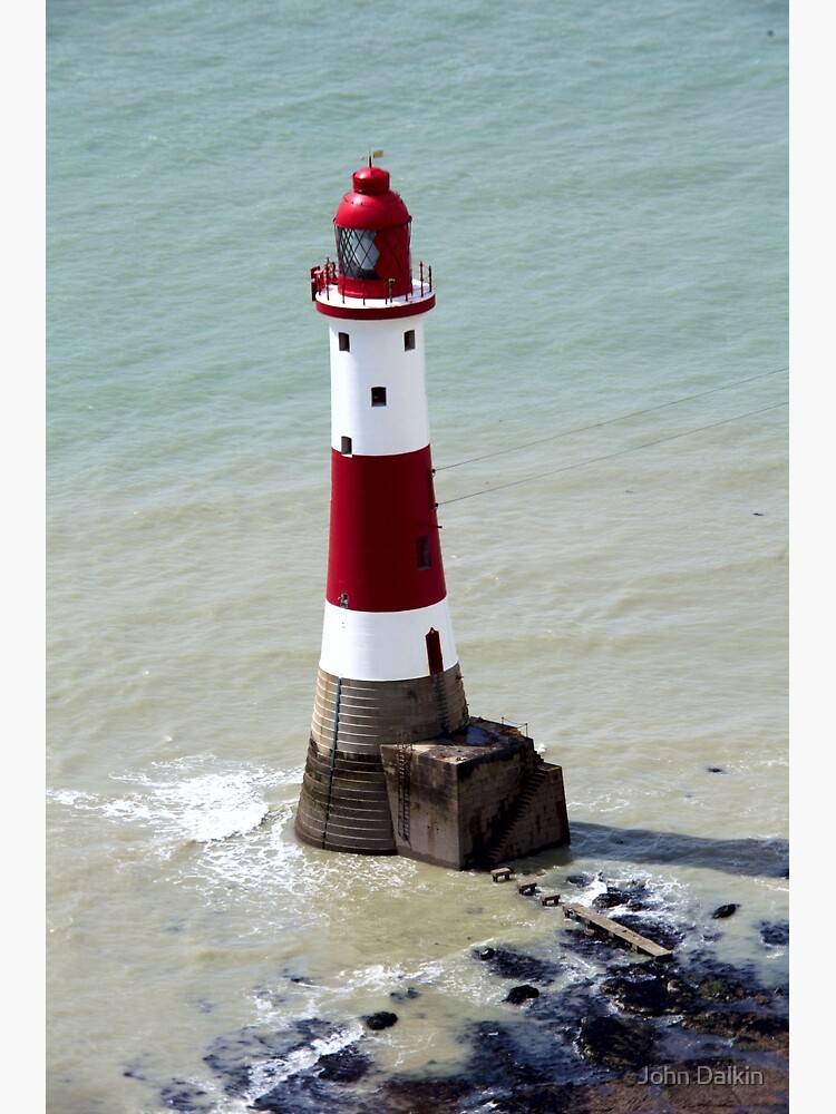 Beachy Head Lighthouse and the deep blue sea by JohnDalkin