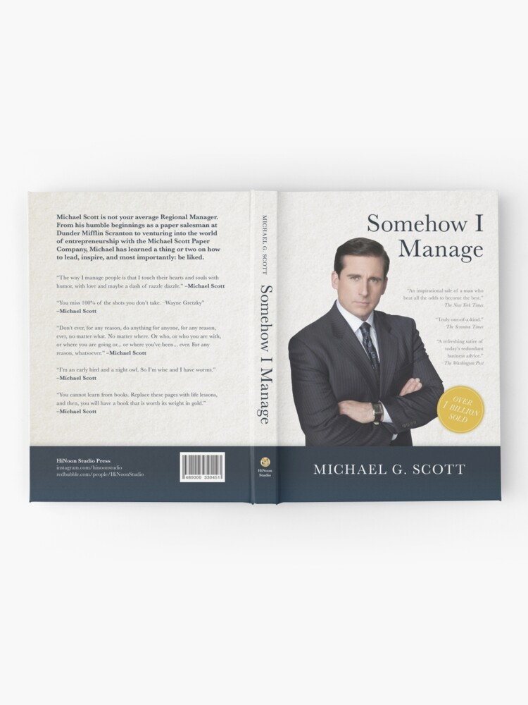 Alternate view of Somehow I Manage Hardcover Journal