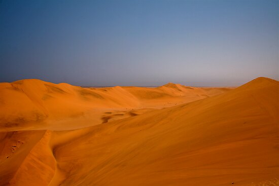 Sand dunes of the Namib by Graeme Shannon