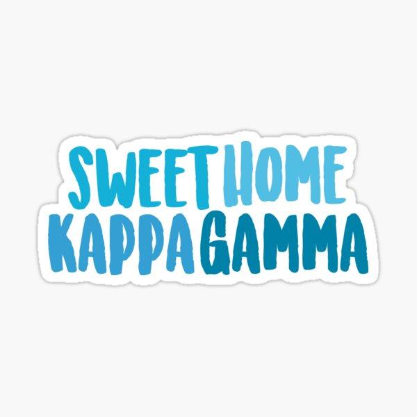 Sweet Home Kappa Gamma Sticker