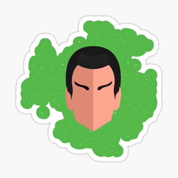 Larga vida y prosperidad Calcomanía-Elige Tamaño Y Color-Spock Kirk Pegatina de Star Trek