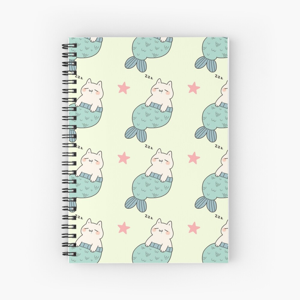 Catfish - Patterned Spiral Notebook