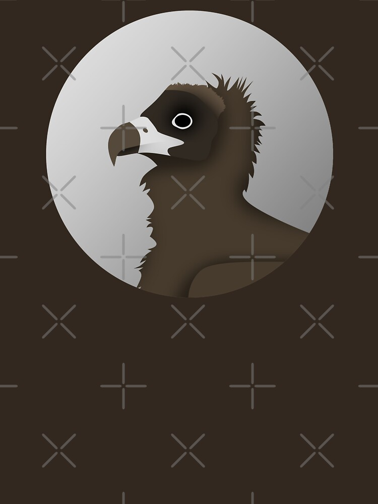 Cinereous Vulture by DeguArts