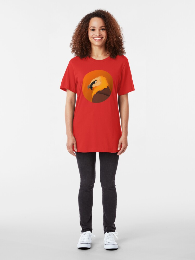Alternate view of Bearded Vulture Slim Fit T-Shirt