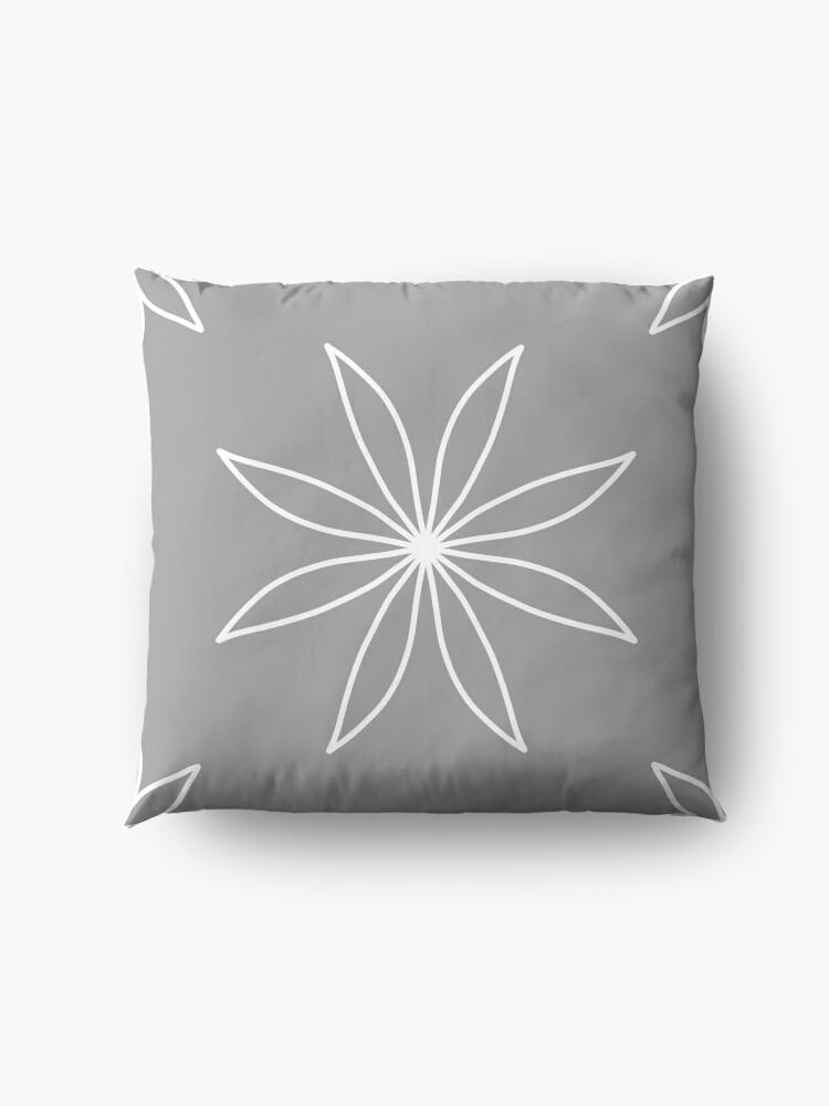 Alternate view of Grey Floor Pillow