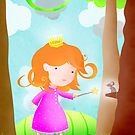 Fairy princess Stella & the missing dragon. by Hannah Chapman