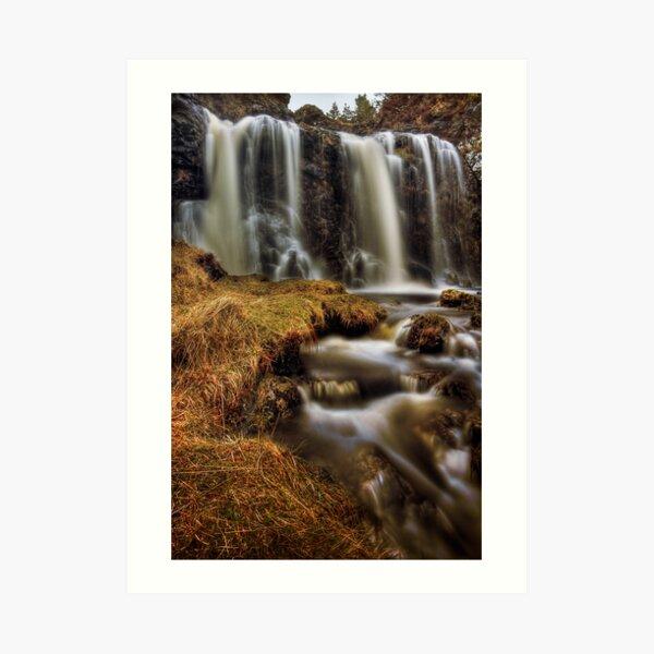 Silky Flow (2) Art Print