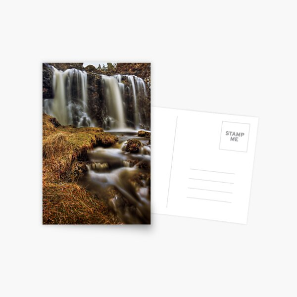 Silky Flow (2) Postcard