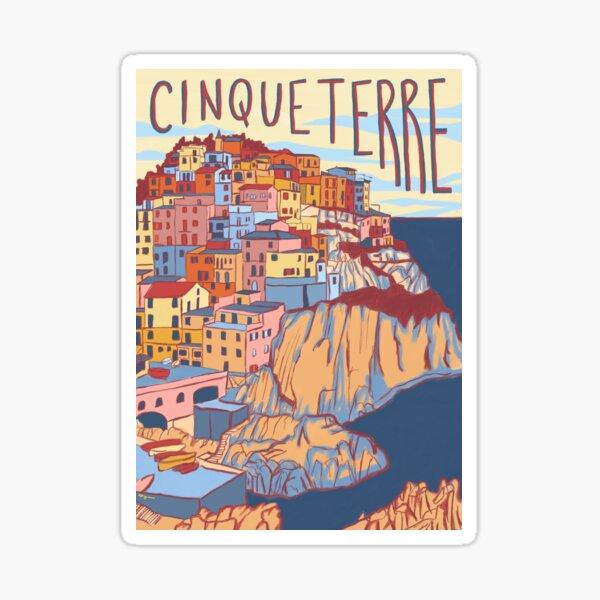 Cinque Terre, Italy Sticker