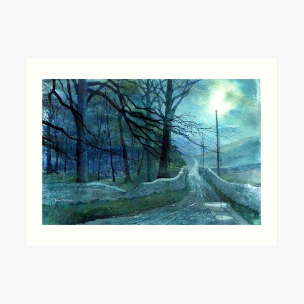 Road to Foxup Art Print