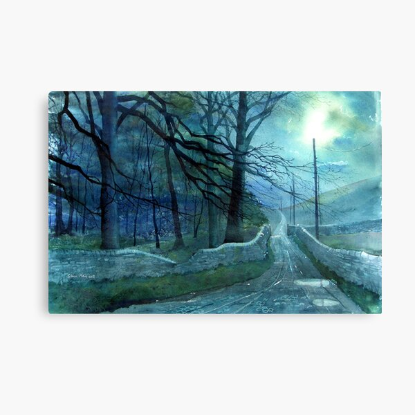 Road to Foxup Canvas Print