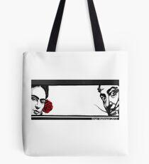 Kahlo und Dali Tote Bag