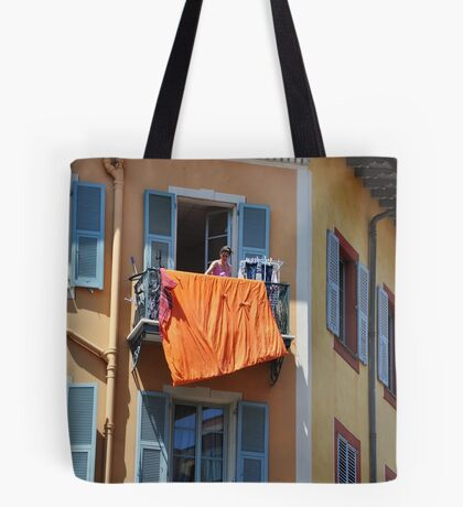 cover me orange Tote Bag