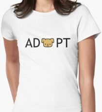 Adopt! Women's Fitted T-Shirt