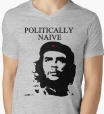 Politically Naive T-shirt col V homme