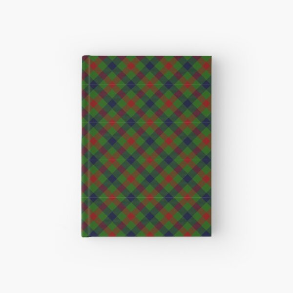 Forest Plaid Hardcover Journal