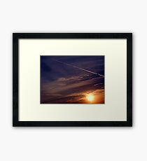 ©TSS The Sun Series L Sunrise Track IA Framed Print