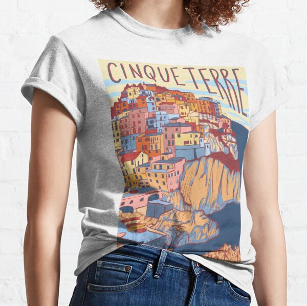 Cinque Terre, Italy Classic T-Shirt